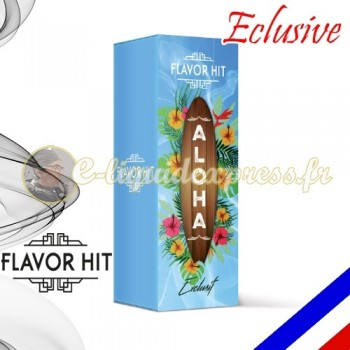 E-liquide Flavor Hit Exclusive 50/50 Aloha - Noix de Coco/Ananas - 10 ml