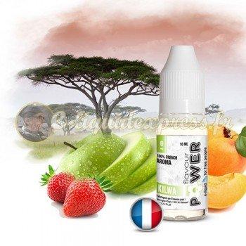 E-liquide Flavour Power 50/50 Kilwa - Pomme/Fraise/Pêche/Abricot 10 ml