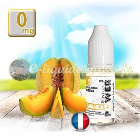 E-liquide Flavour Power 50/50 Melon Galia 10 ml en 0 mg
