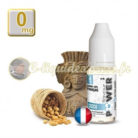 E-liquide Flavour Power 50/50 Cuzco 10 ml en 0 mg