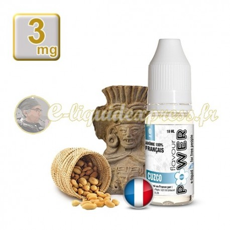 E-liquide Flavour Power 50/50 Cuzco 10 ml en 3 mg