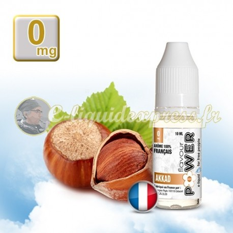 E-liquide Flavour Power 50/50 Akkad 10 ml en 0 mg