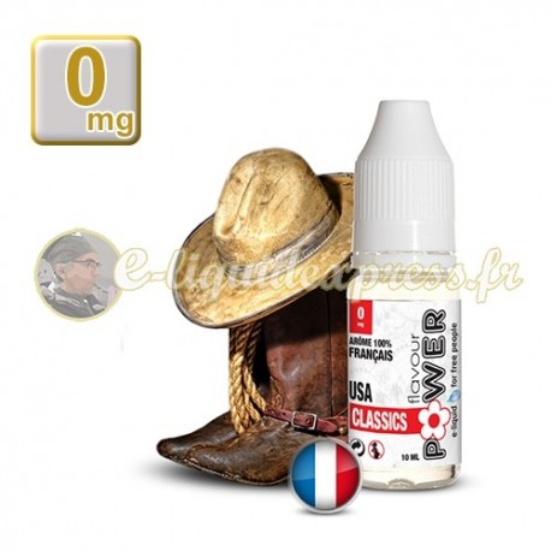 E-liquide Flavour Power 50/50 USA Classics 10 ml en 0 mg
