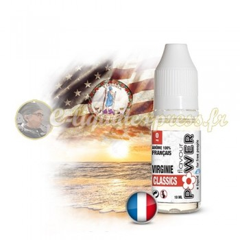 E-liquide Flavour Power 50/50 Virginie Classics 10 ml