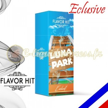 E-liquide Flavor Hit Exclusive 50/50 Luna Parc - Barbe à papa/Pop corn/Gaufre - 10 ml