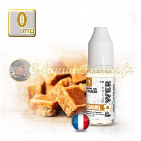 E-liquide Flavour Power 50/50 Caramel 10 ml en 0 mg