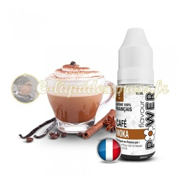 E-liquide Flavour Power Café Moka 50/50 10 ml