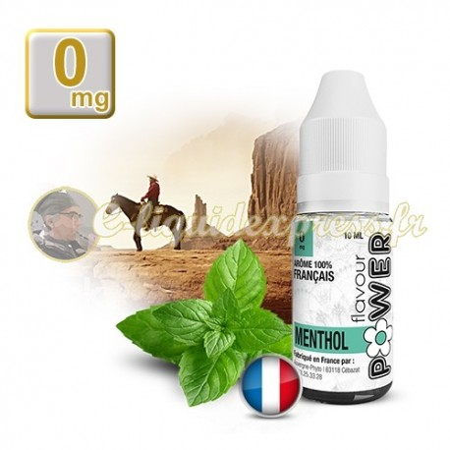E-liquide Flavour Power Classique Menthol 50/50 10 ml en 0 mg