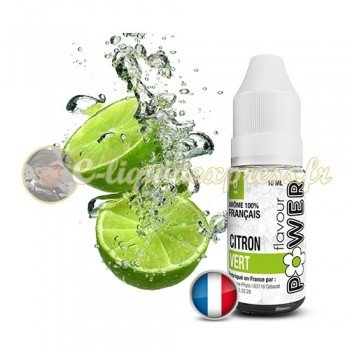 E-liquide Flavour Power Citron Vert 50/50 10 ml