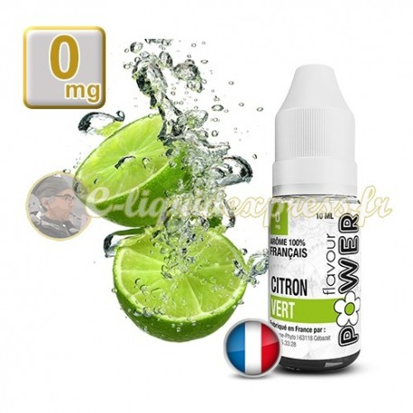 E-liquide Flavour Power Citron Vert 50/50 10 ml en 0 mg
