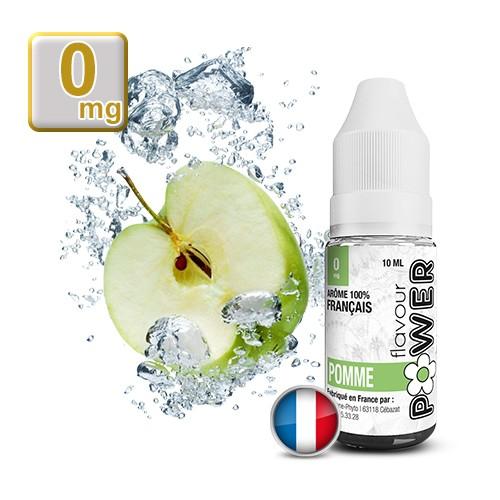 E-liquide Flavour Power Pomme 50/50 10 ml en 0 mg