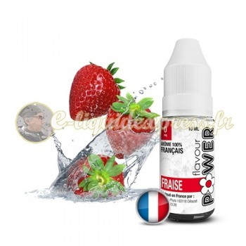 E-liquide Flavour Power Fraise 50/50 10 ml