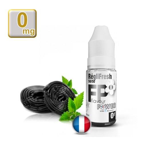 E-liquide Flavour Power RégliFresh Réglise-Menthe 50/50 10 ml en 0 mg