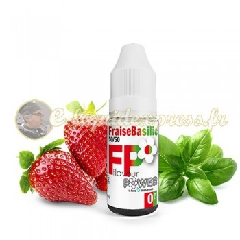 E-liquide Flavour Power Fraise Basilic 50/50 10 ml