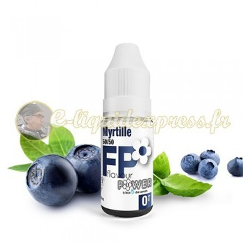 E-liquide Flavour Power Myrtille 50/50 10 ml