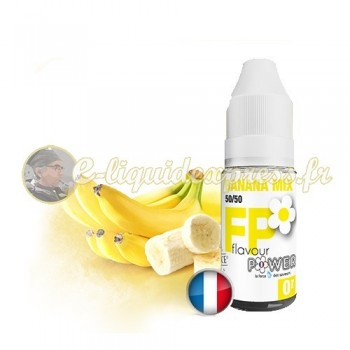 E-liquide Flavour Power 50/50 Banana Mix 10 ml