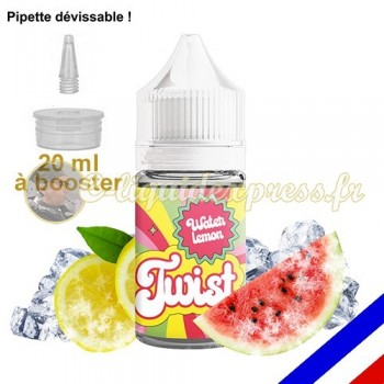 E-liquide Twist 50/50 à booster Waterlemon - Pastèque Citron - 20 ml