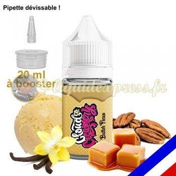 E-liquide Cloud Co 50/50 à booster Butter Pécan - crème glacée noix de pécan grillées, vanille et caramel - 20 ml