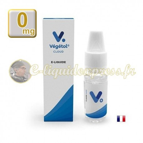 E-liquide Végétol Cloud 60/40 Neutre 10 ml en 0 mg