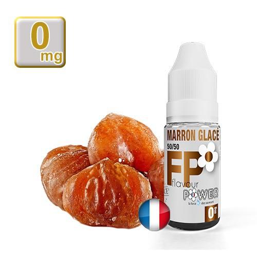 E-liquide Flavour Power Marron Glacé 50/50 10 ml en 0 mg