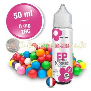 E-liquide Flavour Power 50/50 BB Gum à booster en 50ml
