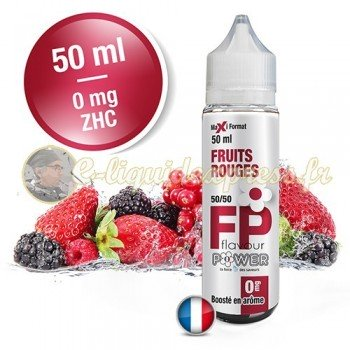 E-liquide Flavour Power 50/50 Fruits Rouges à booster en 50ml
