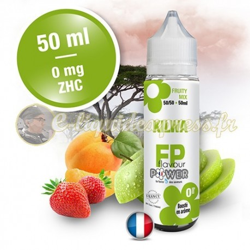 E-liquide Flavour Power 50/50 Kilwa à booster en 50ml