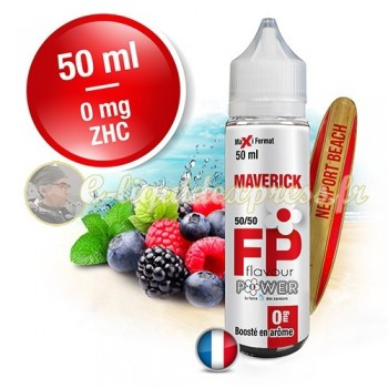 E-liquide Flavour Power 50/50 Maverick à booster en 50ml