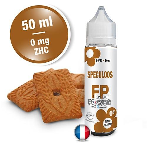 E-liquide Flavour Power 50/50 Spéculoos à booster en 50ml