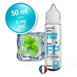 E-liquide Flavour Power 50/50 Menthe X-Trem à booster en 50ml