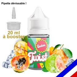 E-liquide Twist 50/50 à booster Exotea - Fruits de la Passion - 20 ml