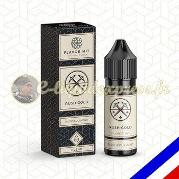 E-liquide Flavor Hit Classique 50/50 Rush Gold - blend blond 10 ml