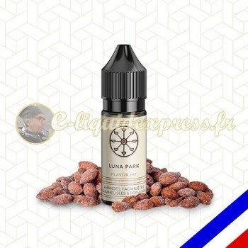 E-liquide Flavor Hit 50/50 Luna Parc - Barbe à papa/Pop corn/Gaufre - 10 ml