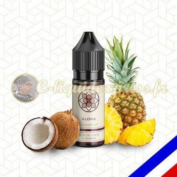 E-liquide Flavor Hit 50/50 Aloha - Noix de Coco/Ananas - 10 ml