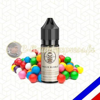 E-liquide Flavor Hit 50/50 Freeze Bubble - Bubble Gum Fraicheur - 10 ml