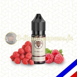 E-liquide Flavor Hit 50/50 Rubellit - Framboise/Crumble - 10 ml