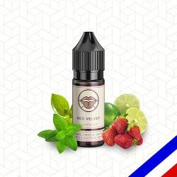 E-liquide Flavor Hit 50/50 Red Velvet - Fraise/Menthe/Basilic/Citron vert - 10 ml