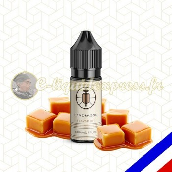 E-liquide Flavor Hit 50/50 Pendragon - Caramel Fruité - 10 ml