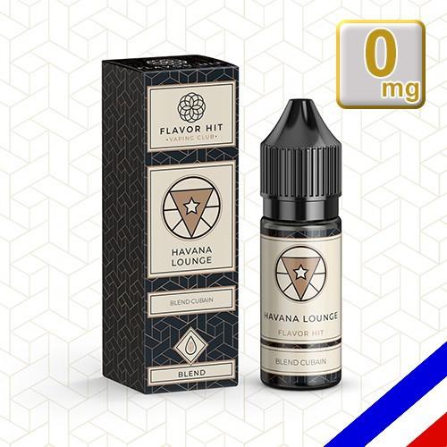 E-liquide Flavor Hit Classique 50/50 Havana Lounge 10 ml en 0 mg