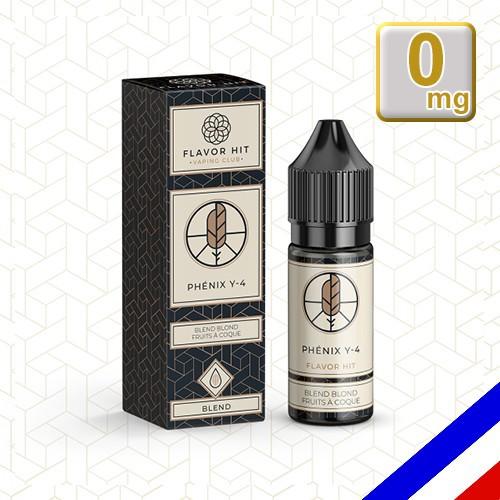 E-liquide Flavor Hit Classique 50/50 Phenix Y4 10 ml en 0 mg