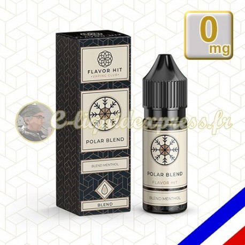E-liquide Flavor Hit Classique 50/50 Polar Blend 10 ml en 0 mg