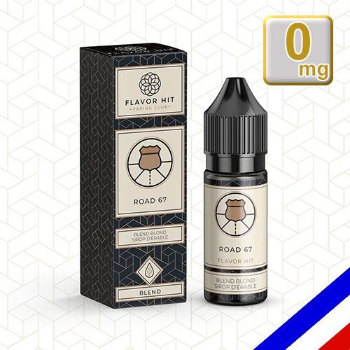 E-liquide Flavor Hit Classique 50/50 Road 67 10 ml en 0 mg