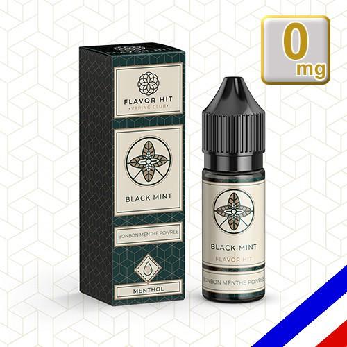E-liquide Flavor Hit Gourmand 50/50 Black Mint - Menthe poivrée - 10 ml en 0 mg