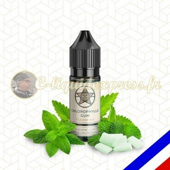 E-liquide Flavor Hit Gourmand 50/50 Chewing gum Chlorophylle - 10 ml