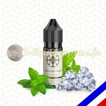 E-liquide Flavor Hit Gourmand 50/50 Monster Frost - Menthe extra forte - 10 ml