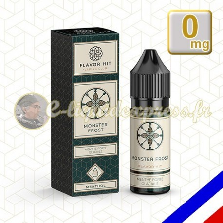E-liquide Flavor Hit Gourmand 50/50 Monster Frost - Menthe extra forte - 10 ml en 0 mg