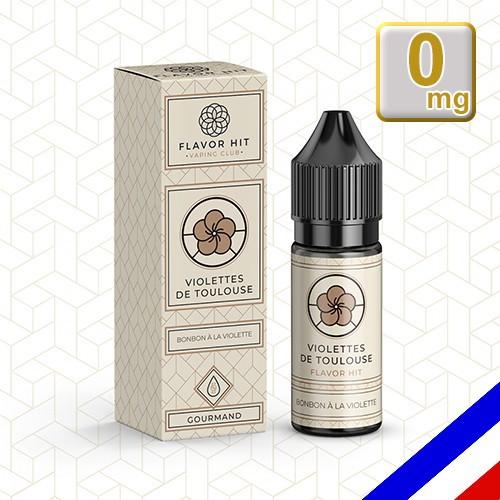 E-liquide Flavor Hit Gourmand 50/50 Violette de Toulouse - Bonbon violette - 10 ml en 0 mg
