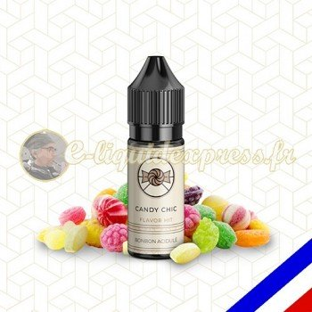 E-liquide Flavor Hit Gourmand 50/50 Candy Chic - Bonbon sucré - 10 ml