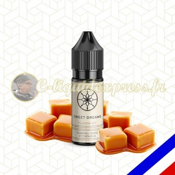 E-liquide Flavor Hit Gourmand 50/50 Sweet Dreams - Bonbon Caramel - 10 ml