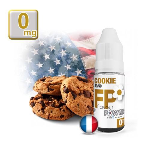 E-liquide Flavour Power Cookie 50/50 10 ml en 0 mg
